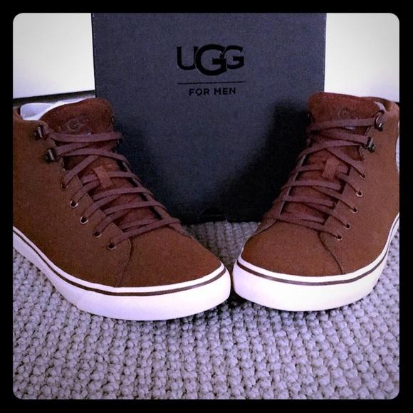 90c859c176b Ugg Men's Hoyt Hi-Top Sneakers NWT